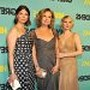 Drew Barrymore, Jeanne Tripplehorn and Jessica Lange at event of Grey Gardens
